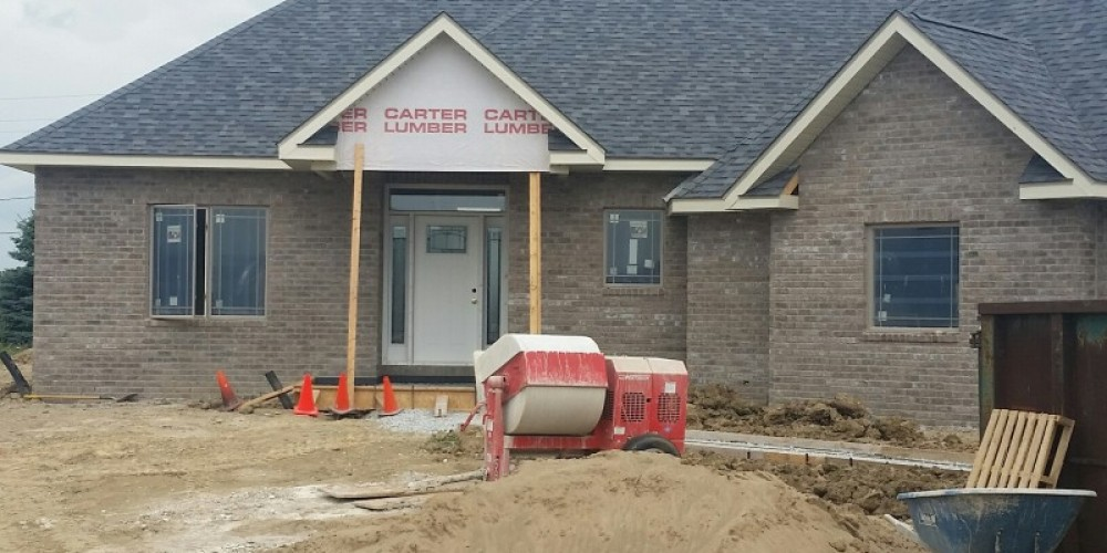 Custom Home Being Built for 2016 Parade of Homes